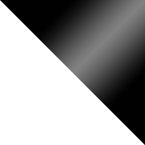 biały mat + czarny połysk