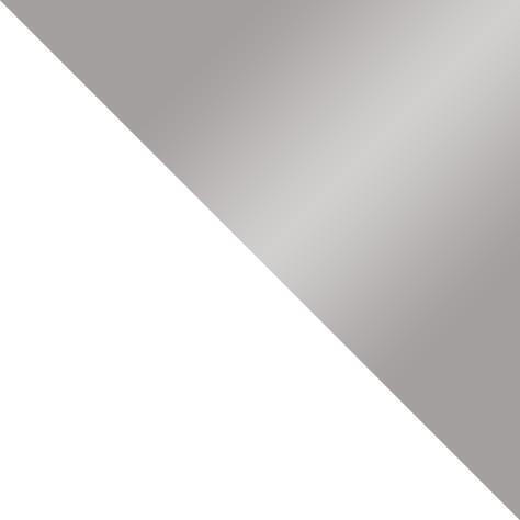 biały mat + szary połysk